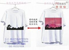 UV color ink color paint can be used for brand clothing fabric Alisen