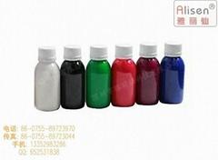 桃紅透明熒光染料(醇溶) 干花染料  用於木材 花草染色