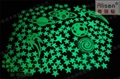 Water transfer printing luminous stickers green long-acting