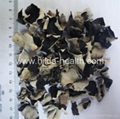 Diced White-back black fungus