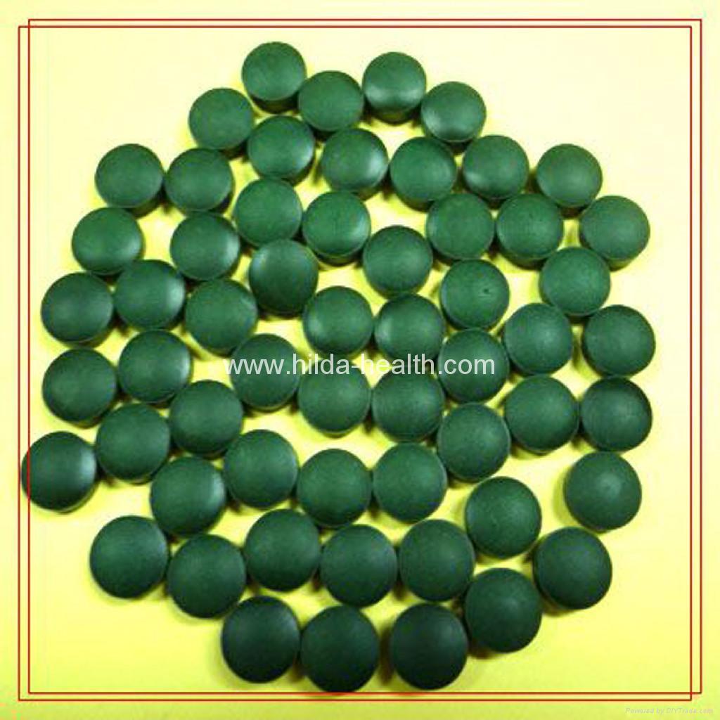 Organic Chlorella tablet (broken cell) 1