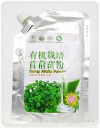 Organic alfalfa grass powder 1