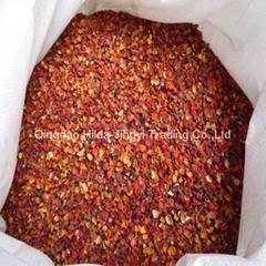 Dried wild rosehip pericarp