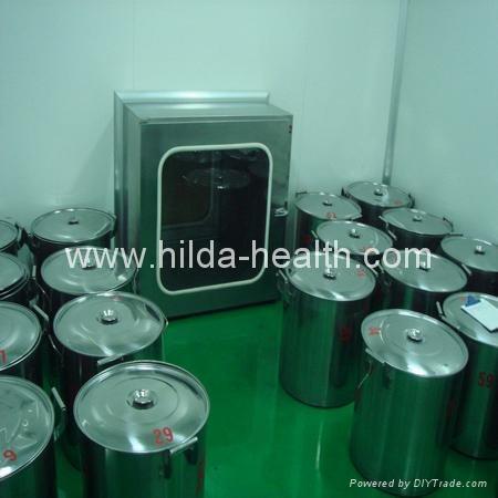 Organic spirulina powder production