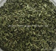 Stevia leaves cut