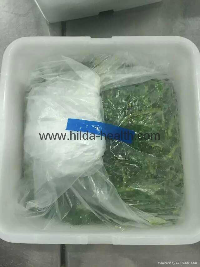 Frozen shredded seaweed wamake stem chuka salad package
