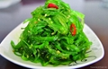Frozen shredded seaweed wamake stem chuka salad