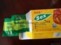 Sex tea sachet