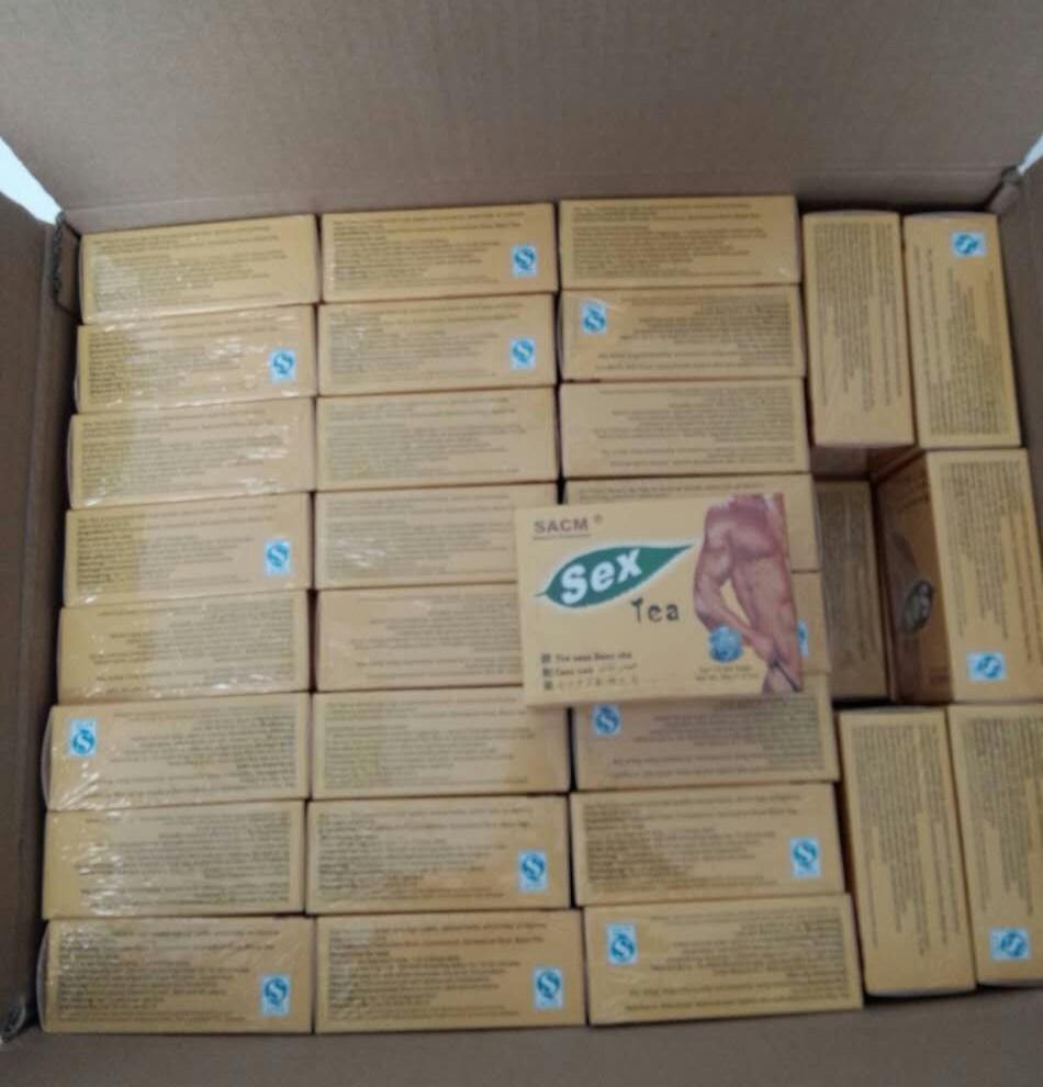 Sex tea carton
