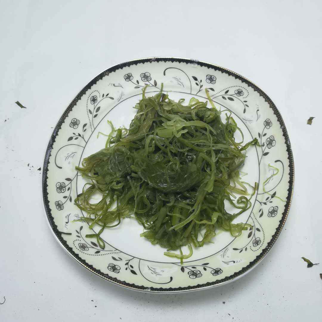 2019 crop Frozen salted wakame stem cut for hiyashi seaweed salad