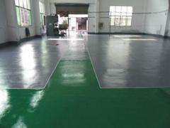 重庆厂房地坪漆装修