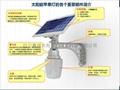 太陽能一體化蘋果燈1.0 2