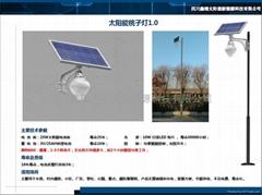 太阳能一体化桃子灯1.0