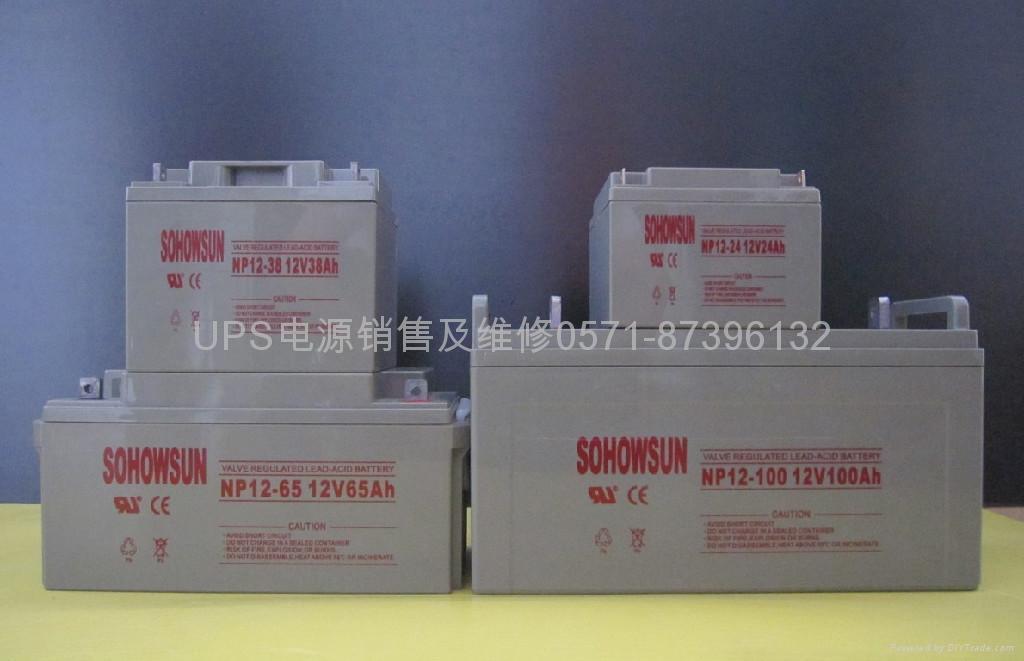 供应SOHOWSUN蓄电池 1