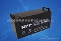 供应NPP12V-100AH蓄