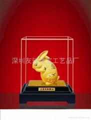 金兔年工藝禮品