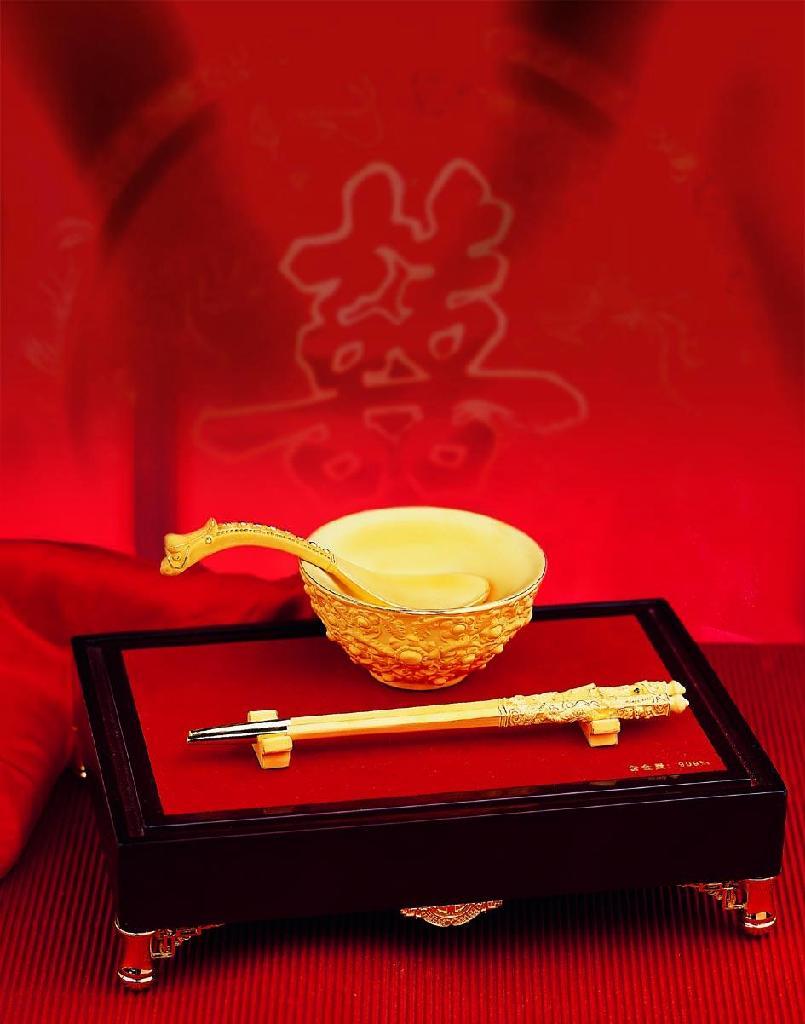 电铸绒沙金纪念品铸铜工艺品 1