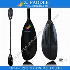 oval shaft sea kayak paddle with 10cm adjustment