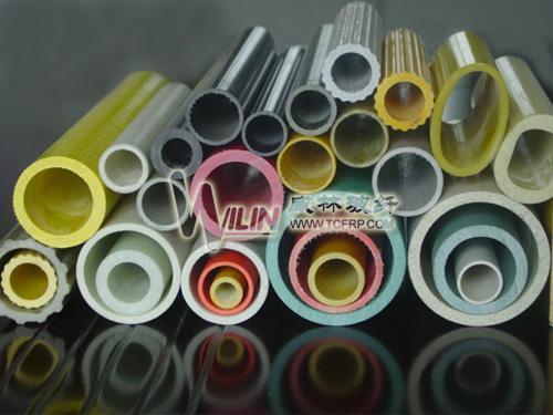 包氈玻璃鋼管拉擠玻璃纖維管 1