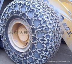 加强型装载机轮胎保护链