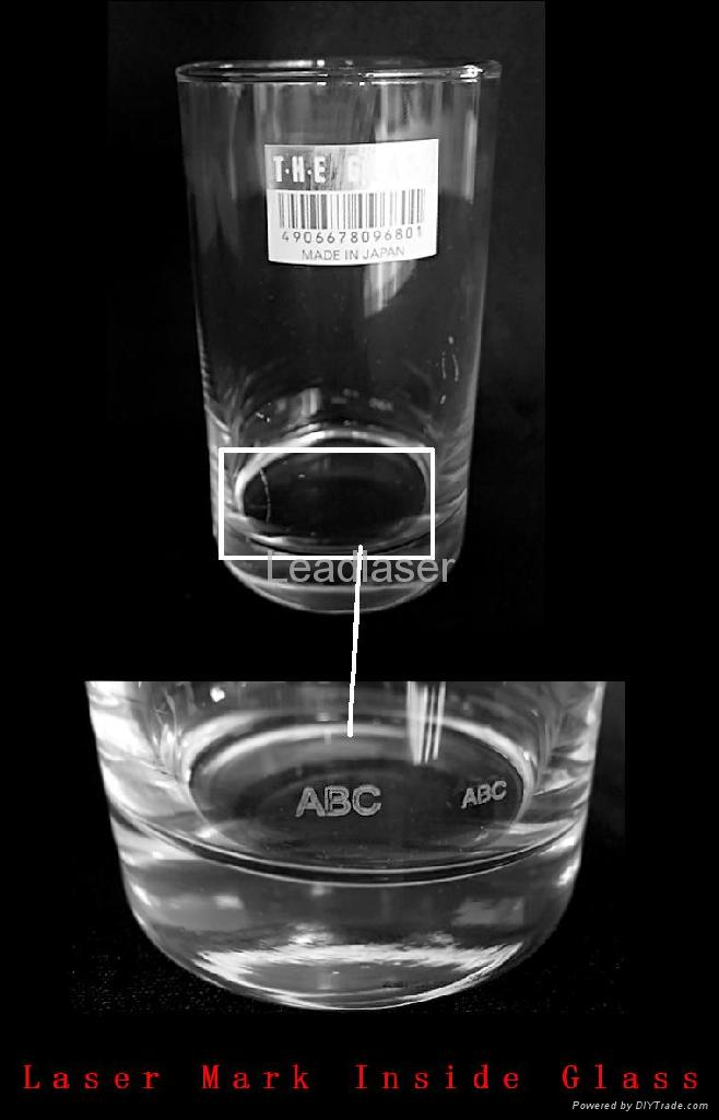 Glassware anti-counterfeiting laser sub-engraving & Flying Marking Machine