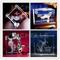 3D crystal souvenir