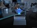 crystal photo gift