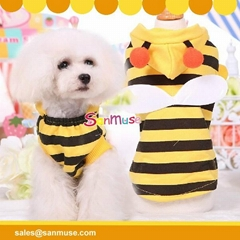 Small bee 2016 Dog clothes