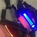 Solar charging Led pet vest