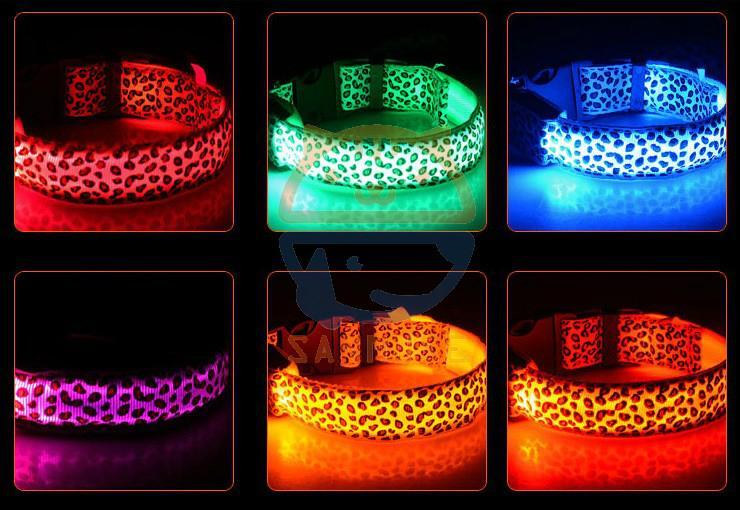 Night Safety Warning Light LED Dog Collar-Usb Charging 3