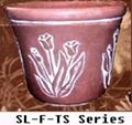 pu flower pot