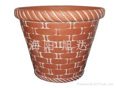 pu flower pot 2