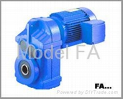 F series Parallel Shaft Gear Motor