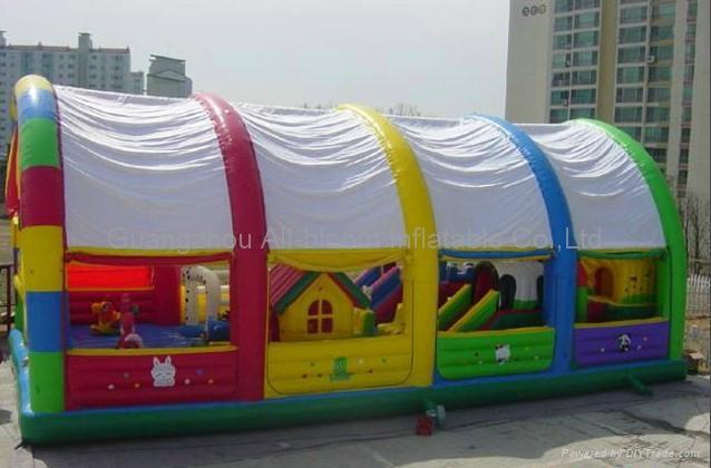 inflatable disney integrated park/inflatable amusement park/inflatable fun park 1