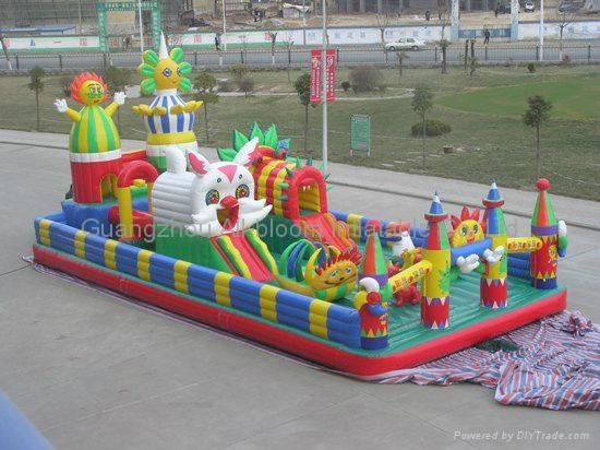 inflatable disney integrated park/inflatable amusement park/inflatable fun park 2