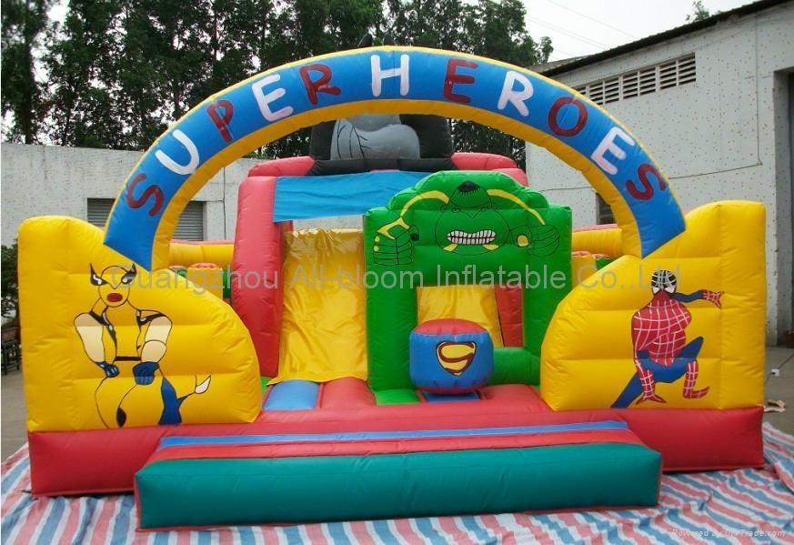 inflatable disney integrated park/inflatable amusement park/inflatable fun park 3