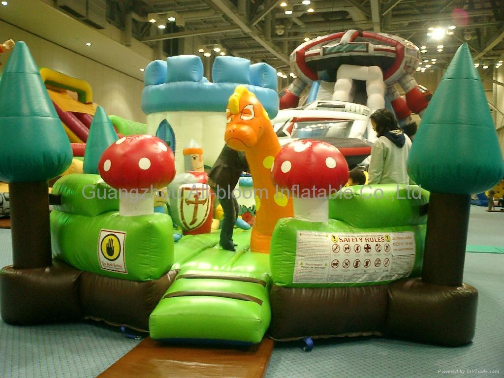 inflatable disney integrated park/inflatable amusement park/inflatable fun park 4