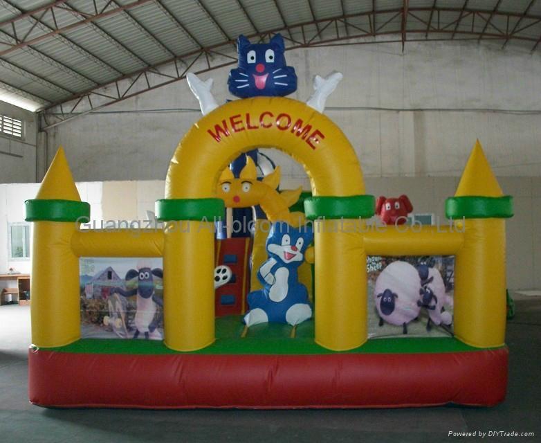 inflatable disney integrated park/inflatable amusement park/inflatable fun park 5