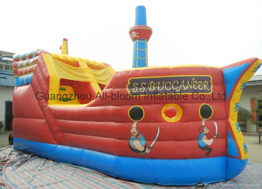 2014 newest inflatable slides 2