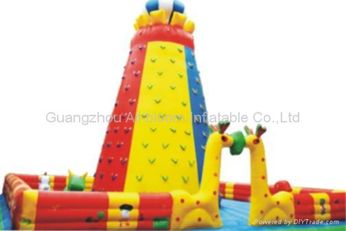 inflatable climbing wall 3