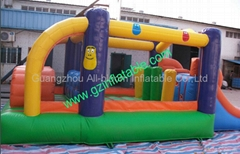 inflatable mini party bouncer