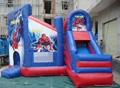 inflatable spider-man bouncy house 2