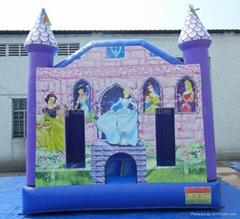 inflatable bouncy castle/inflatable princess castle/air castle house
