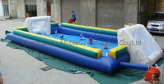 inflatable football field/inflatable football court/inflatable football pitch