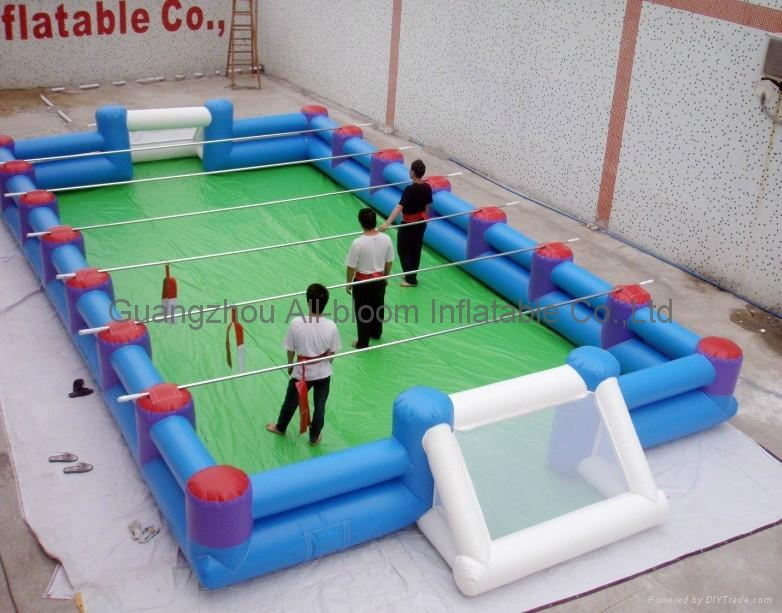 inflatable football field/inflatable football court/inflatable football pitch 3