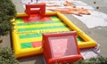 inflatable football field/inflatable football court/inflatable football pitch 5