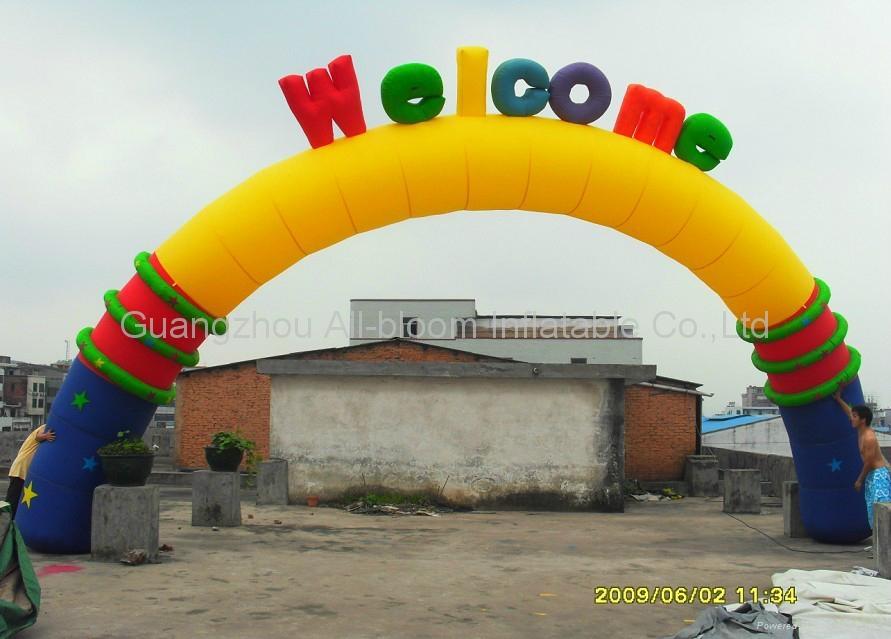 inflatable arches door 1