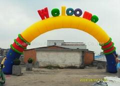 inflatable arches door