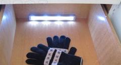 LED batterieleuchte mit vibrationssensor
