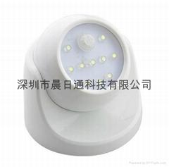 监控型人体感应灯